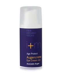 i+m Naturkosmetik Age Protect Avocado Argan Augencreme