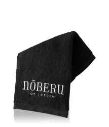 Nõberu of Sweden Face Towel Black Goodie