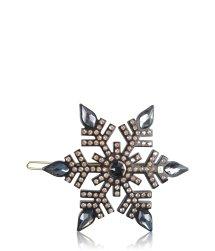 Alexandre de Paris Black Ice 6 cm Haarschmuck