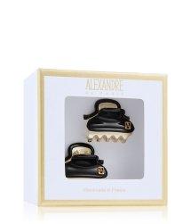 Alexandre de Paris Pince Vendôme Schwarz-Gold Haarspangen