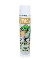 Badger Lip balm Unscented Lippenbalsam