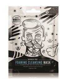 BARBER PRO Foaming Cleansing Tuchmaske