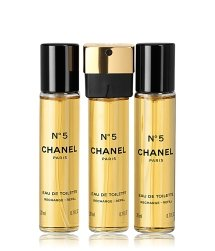 CHANEL N°5 Nachfüllung Eau de Toilette Twist and Spray