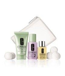 Clinique 3-Phasen-Systempflege Trial Kit Hauttyp 1, 2 Gesichtspflegeset