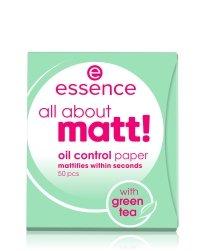 essence all about matt! Blotting Paper