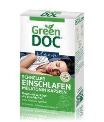 GreenDoc Schneller Einschlafen Nahrungsergänzungsmittel