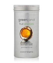 Greenland Fruit Emotions Coconut-Tangerine Scrub Salt Körperpeeling