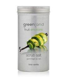 Greenland Fruit Emotions Lime-Vanilla Scrub Salt Körperpeeling