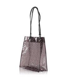 Inglot Shopping Bag Brown Transparent Kosmetiktasche