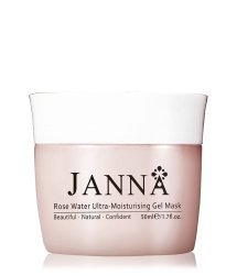 JANNA Rose Water Ultra-Moisturising Gesichtsmaske