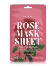 KOCOSTAR Flower Mask Rose Tuchmaske