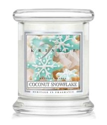 Kringle Candle Coconut Snowflake Duftkerze