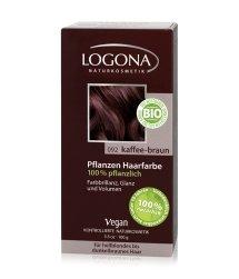 Logona Pflanzen Pulver Kaffee-Braun Haarfarbe