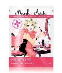 MaskerAide Pre Party Prep Sheet Tuchmaske