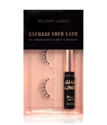 MELODY LASHES Glue Liner & Ginny Lashes Wimpernpflegeset