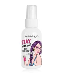 Misslyn Stay With Me! Matte Fixing Spray Gesichtsspray