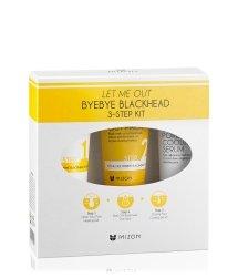 Mizon Let Me Out Byebye Blackheads 3-Step Kit  Gesichtspflegeset