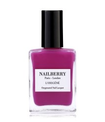 Nailberry L'Oxygéné Hollywood Rose Hot Pink Nagellack