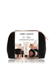 Nude by Nature Set and Glow Complexion Set Gesicht Make-up Set