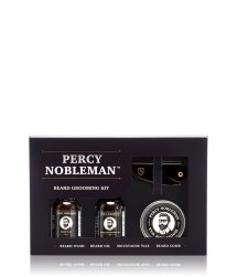 Percy Nobleman Gentlemans Beard Grooming Travel Size Bartpflegeset