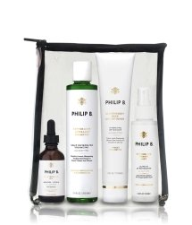 Philip B Four-Step Hair + Scalp Treatment Kit Haarpflegeset