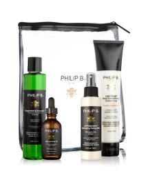 Philip B Four-Step Hair & Scalp Treatment Kit Classic - Paraben Free Haarpflegeset