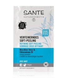 Sante Bio-Aloe Vera & Chiasamen -Extrakt Gesichtspeeling