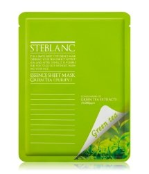 Steblanc Essence Sheet Mask Green Tea Tuchmaske