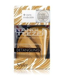 Tangle Teezer Compact Styler Metallic Bronze & invisibobble Crystal Clear Haarstylingset