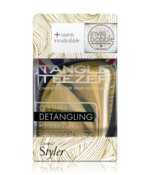 Tangle Teezer Compact Styler Metallic Gold & invisibobble Royal Pearl Haarstylingset