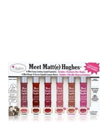 theBalm Meet Matt(e) Hughes Mini Kit Lippen Make-up Set