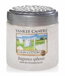 Yankee Candle Fragrance Spheres Clean Cotton Raumduft