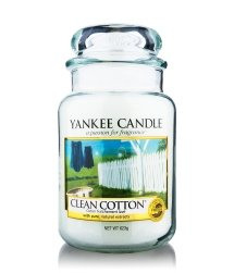 Yankee Candle Housewarmer Clean Cotton Duftkerze