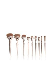 Zoë Ayla Oval Makeup Brush Set Pinselset