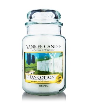 yankee candle housewarmer clean cotton duftkerze bestellen flaconi. Black Bedroom Furniture Sets. Home Design Ideas