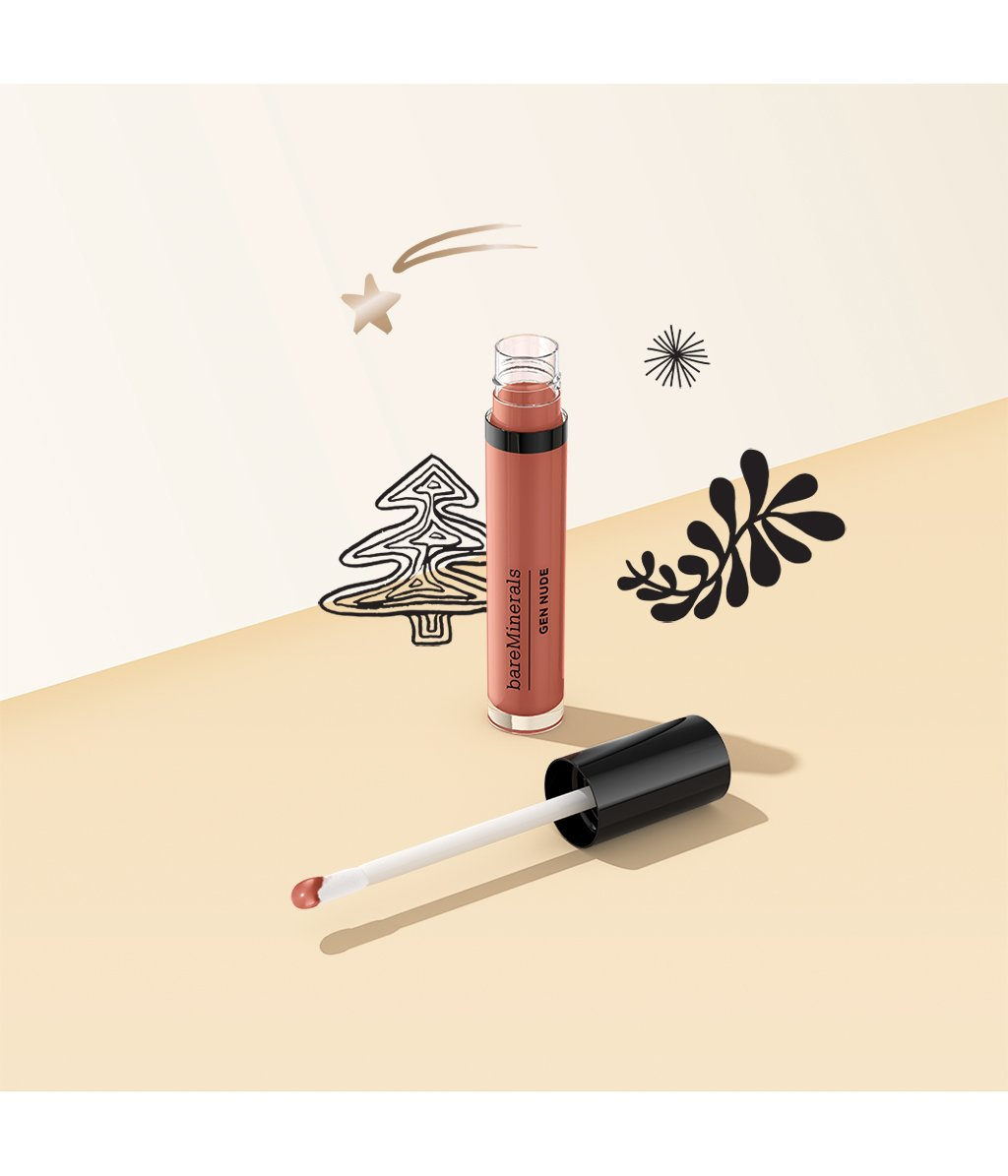 bareMinerals Gen Nude Patent Lip Laquer Liquid Lipstick