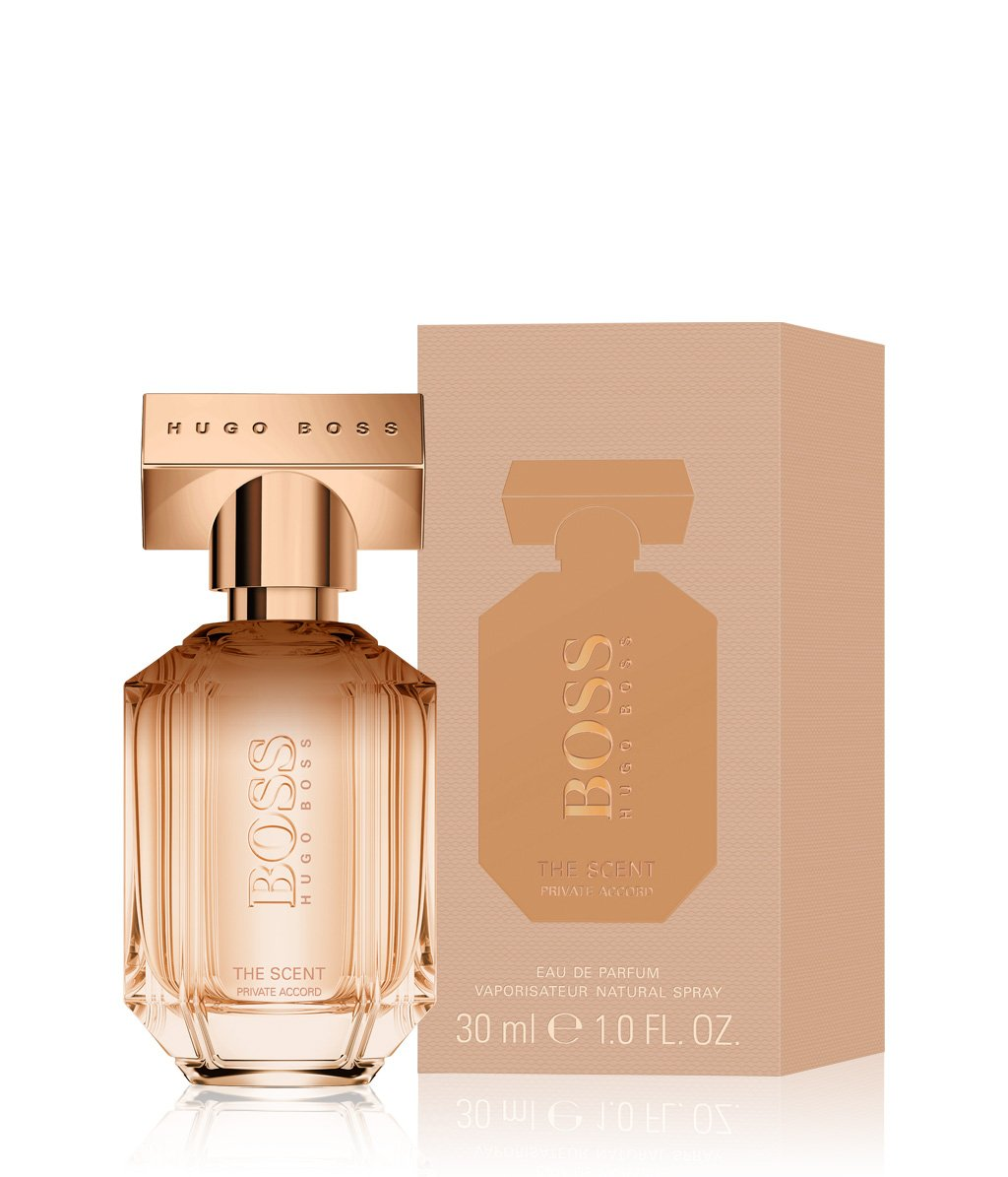 hugo boss boss the scent private accord for her edp. Black Bedroom Furniture Sets. Home Design Ideas
