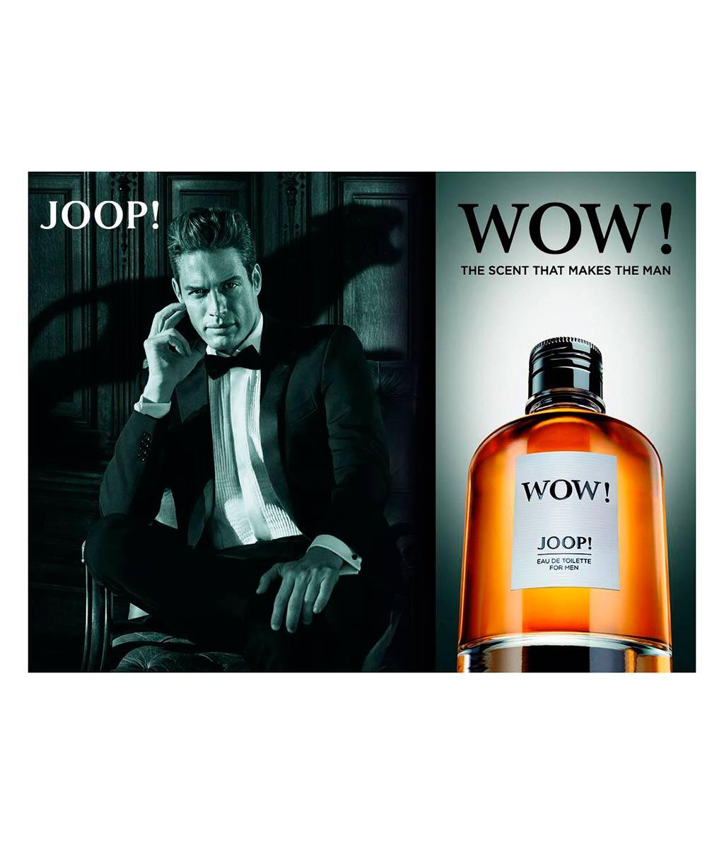 joop wow eau de toilette bestellen flaconi. Black Bedroom Furniture Sets. Home Design Ideas
