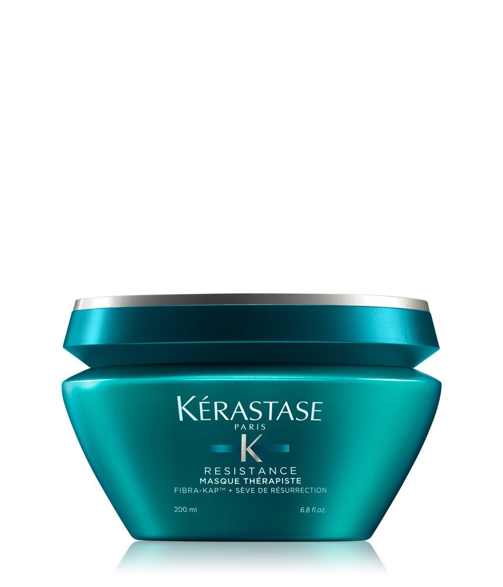 how to use kerastase resistance masque therapiste