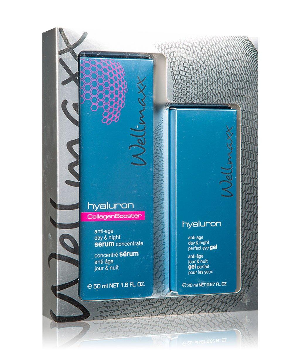 Wellmaxx Hyaluron Duo Collagen Booster Gesichtspflegeset..