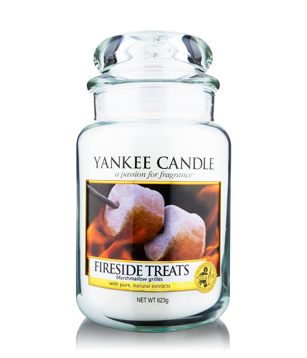 yankee candle housewarmer fireside treats jar duftkerze bestellen flaconi. Black Bedroom Furniture Sets. Home Design Ideas