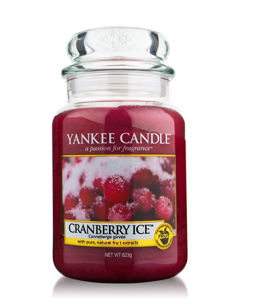 yankee candle housewarmer cranberry ice jar duftkerze bestellen flaconi. Black Bedroom Furniture Sets. Home Design Ideas