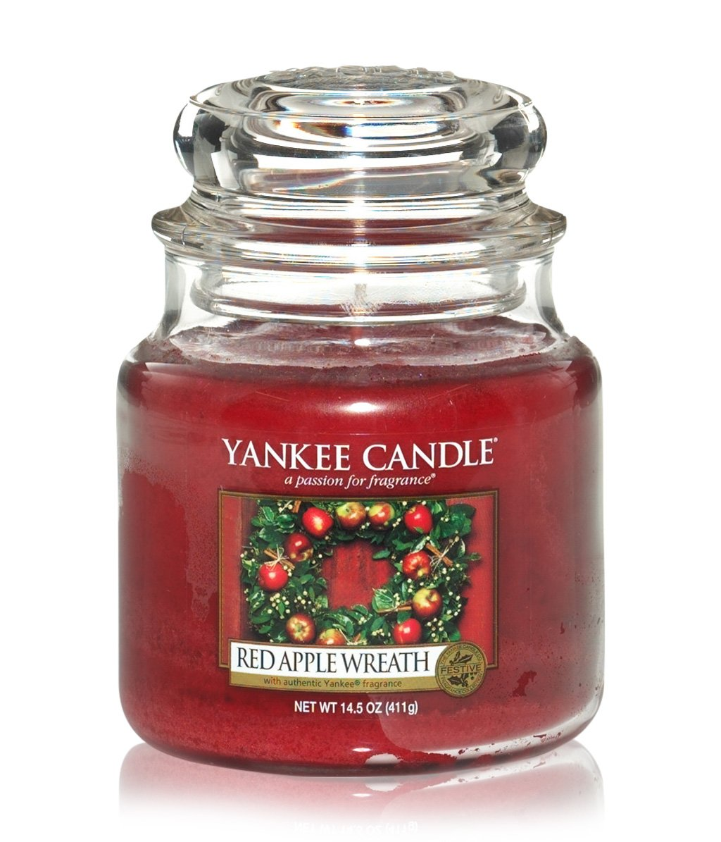 yankee candle housewarmer red apple wreath duftkerze bestellen flaconi. Black Bedroom Furniture Sets. Home Design Ideas