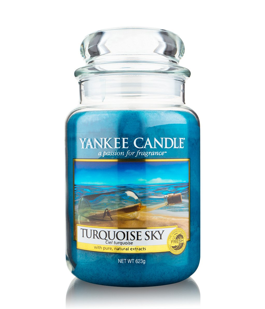 yankee candle housewarmer turquoise sky duftkerze bestellen flaconi. Black Bedroom Furniture Sets. Home Design Ideas