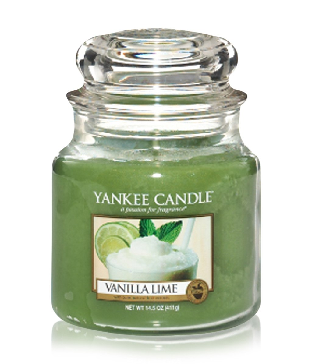 yankee candle housewarmer vanilla lime jar duftkerze online bestellen flaconi. Black Bedroom Furniture Sets. Home Design Ideas