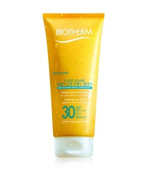 Biotherm Fluide Solaire Wet or Dry Skin LSF 30 Sonnencreme 200 ml