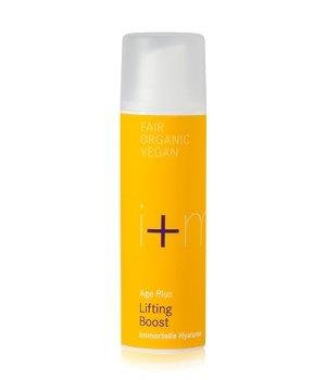i+m Naturkosmetik Age Plus Lifting Boost Immortelle Hyaluron Gesichtscreme für Damen und Herren