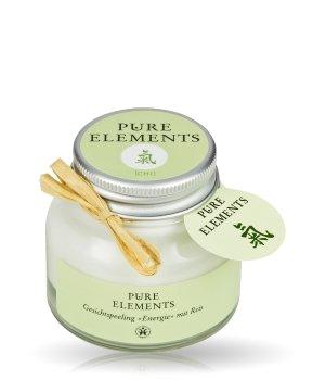 Pure Elements grüne Serie Chi Energie mit Reis Gesichtspeeling für Damen
