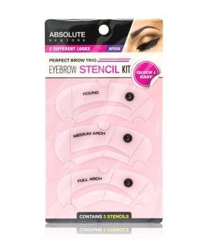 Absolute New York Eye Brow Stencil  Augenbrauenschablone für Damen