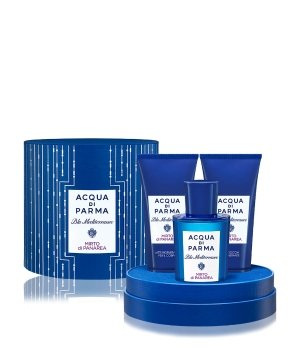 Acqua di Parma Blu Mediterraneo Mirto di Panarea Duftset 1 Stk 75ml EDT Shower Gel